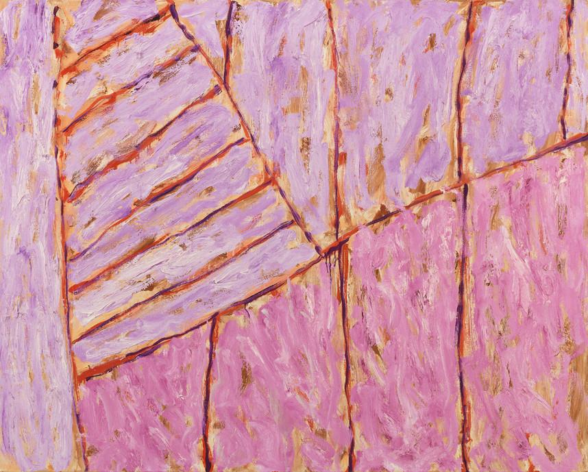 Pat Passlof HM, 2001 Oil on linen 48 x 60 inches Image credit: Milton Resnick and Pat Passlof Foundation.