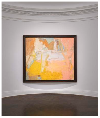 Willem de Kooning  Pastorale  1963  oil on canvas  70 x 80 inches (177.8 x 203.2 cm)  Private Collection