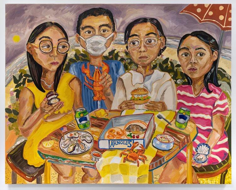 Susan Chen, Arnie's, 2020, oil on canvas, 40 x 50 inches photo: Adam Reich
