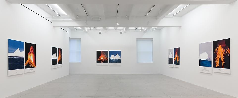 John Baldessari installation shot @Marian Goodman Galery