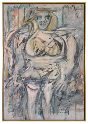Willem de Kooning  Woman III  1952-53  oil on canvas  68 x 48 1/2 inches (172.7 x 123.2 cm)  Private collection