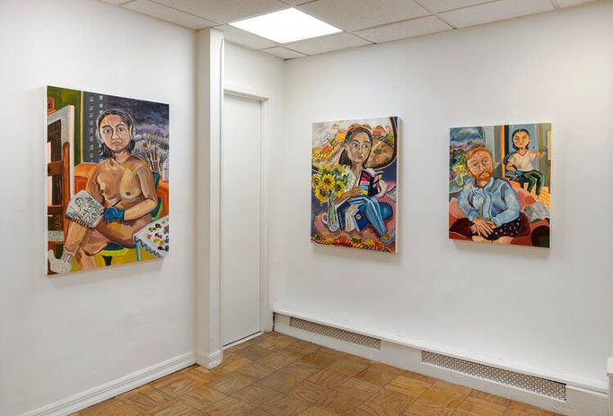 Susan Chen, On Longing, 2020, Meredith Rosen Gallery New York, NY photo: Adam Reich