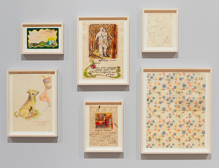 The Pencil Is a Key: Drawings by Incarcerated Artists , The Drawing Center, New York. October 1 1, 2019 – January 5, 2020  Photo: Martin Parsekian