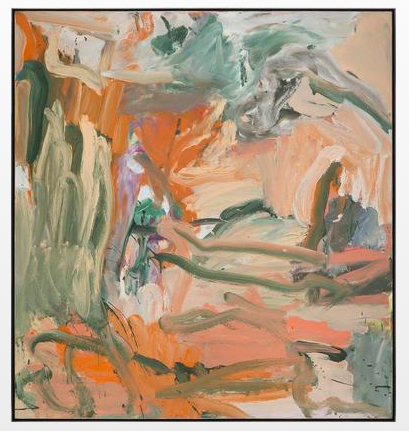 Willem de Kooning  Untitled X   1977  oil on canvas  59 1/4 x 55 inches (150.5 x 139.7 cm)  Private Collection