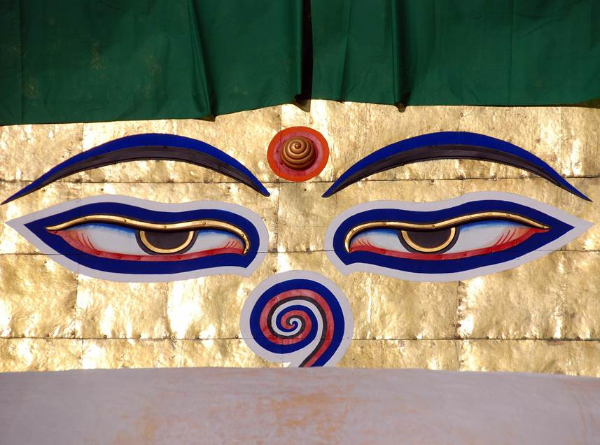 The Buddha's Eye of Wisdom