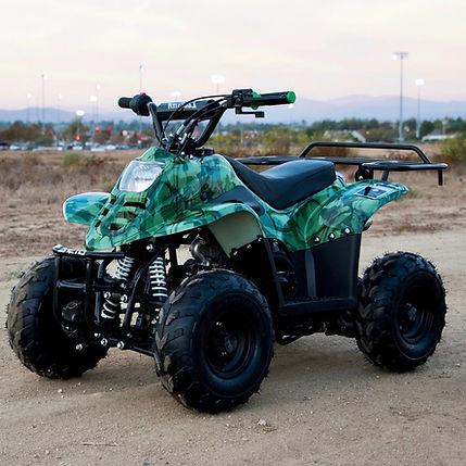 Rebel Racing - 110cc Camo ATV Temecula Sunset
