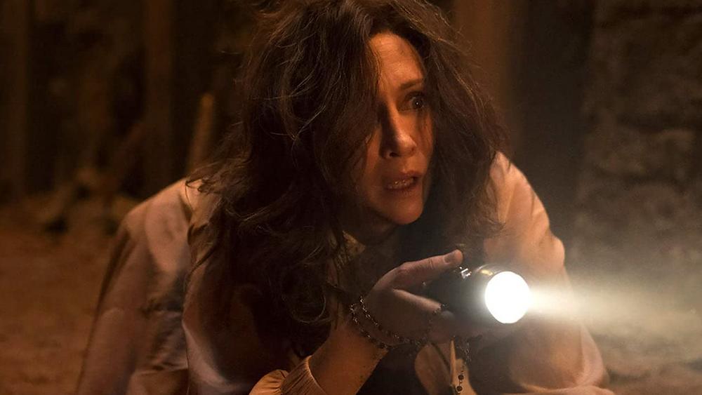 Vera Farmiga in The Conjuring: The Devil Made Me Do It c/o New Line Cinema