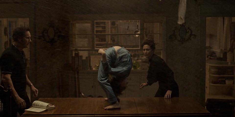 Patrick Wilson, Julian Hilliard, and Vera Farmiga in The Conjuring: The Devil Made Me Do It c/o New Line Cinema