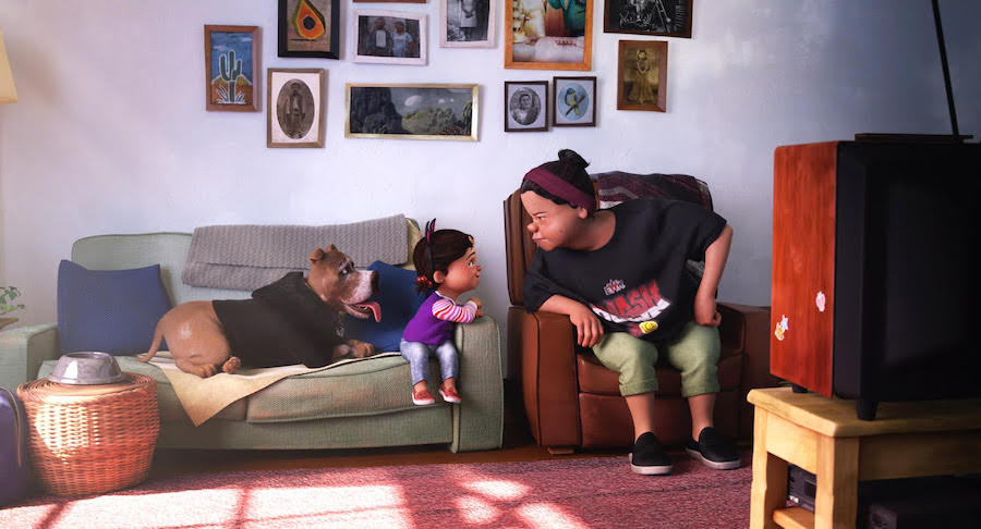 Nona c/o Pixar SparkShorts, Disney Plus