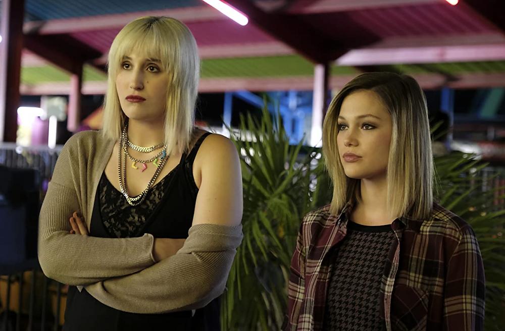 Harley Quinn Smith and Olivia Holt in Cruel Summer c/o Freeform