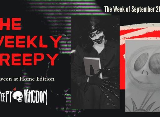 The Weekly Creepy 9/20/20