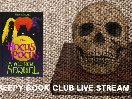Creepy Book Club - Hocus Pocus and the All-New Sequel