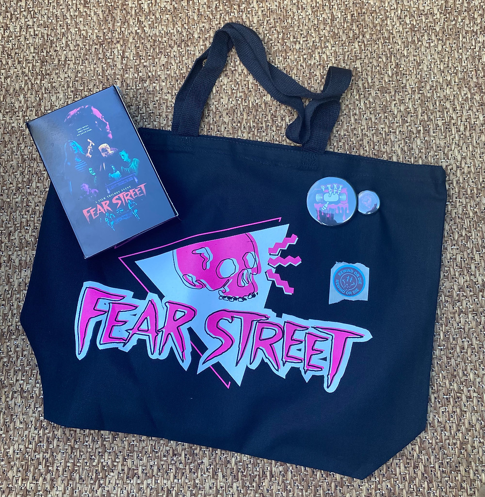 My new favorite bag, c/o Fear Street Rentals