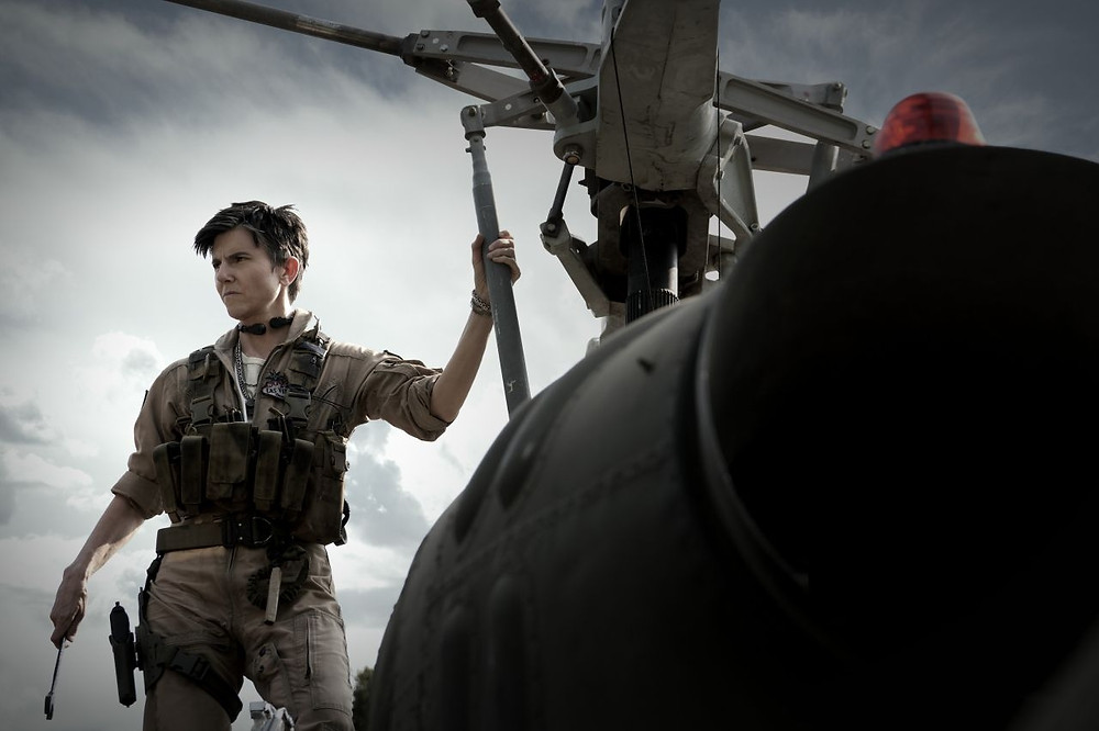 Tig Notaro in Army of the Dead c/o Netflix