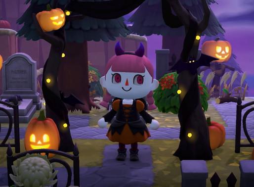 Animal Crossing New Horizons Halloween update Coming September 30th