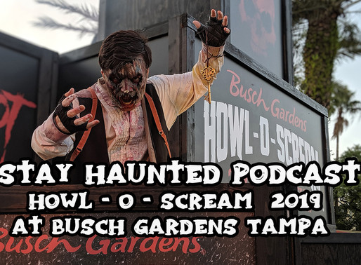 Stay Haunted - Howl - O - Scream 2019 at Busch Gardens Tampa