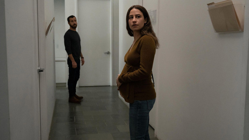 Justin Theroux and Ilana Glazer in False Positive c/o A24/Hulu