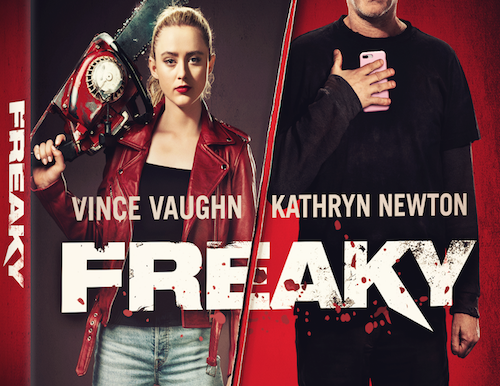 Freaky, Starring Vince Vaughn and Kathryn Newton, Coming to Digital and Blu-ray and DVD