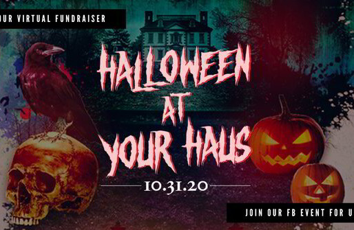 """Halloween at Your Haus"" Free 24-Hour Halloween Fundraiser"