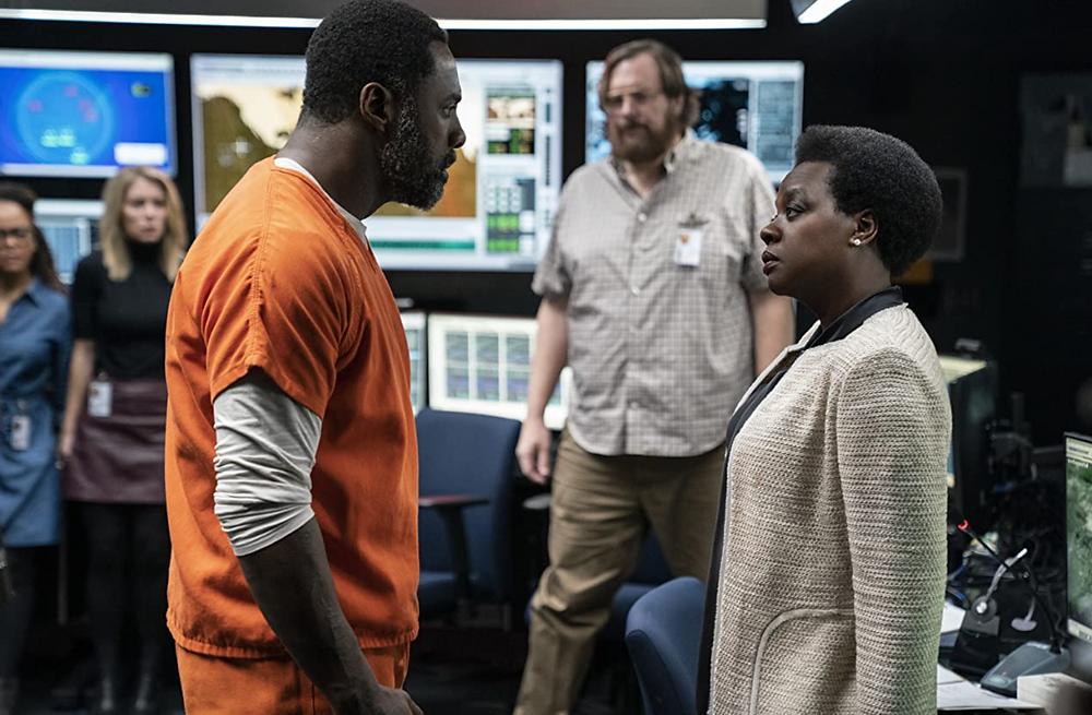 Idris Elba and Viola Davis in The Suicide Squad c/o DC Entertainment