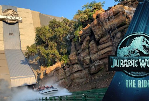 "New ""Jurassic World"" Ride Promo Video"