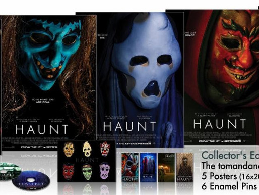 Available Now - Collector's Edition Blu-ray of 'Haunt' from the Writers of 'A Quiet Place'