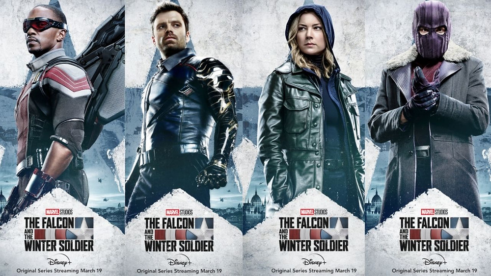 Marvel Studios' 'The Falcon and The Winter Soldier' Character Posters