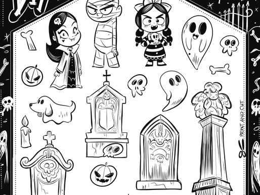 DIY Spooky Graveyard - Halloween at Home