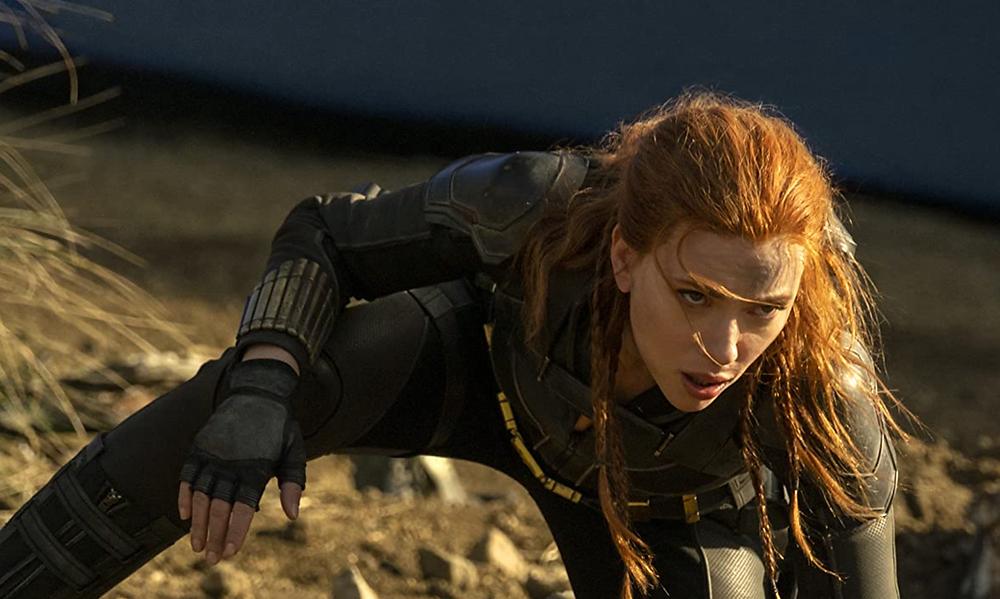 Scarlett Johansson in Black Widow c/o Marvel