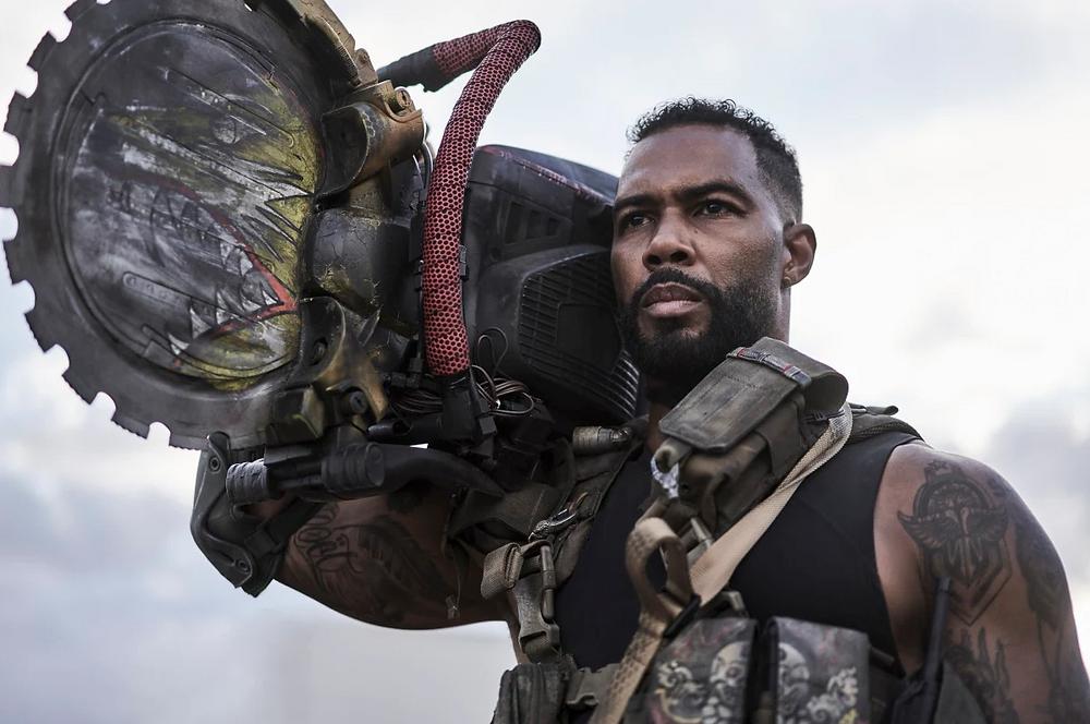 Omari Hardwick in Army of the Dead c/o Netflix