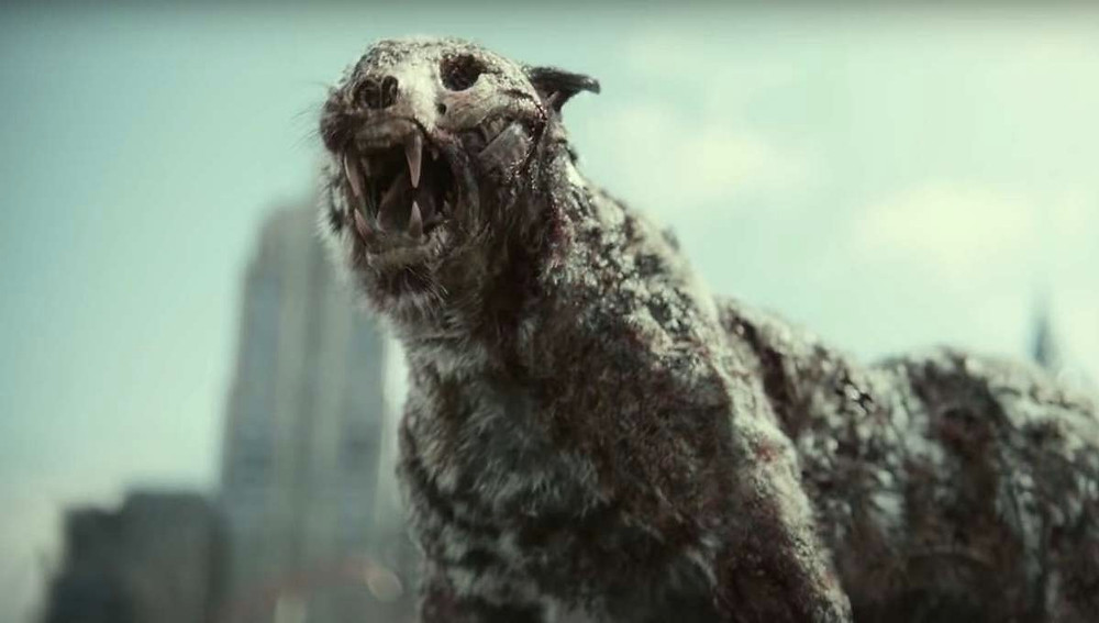 Zombie tiger in Army of the Dead c/o Netflix