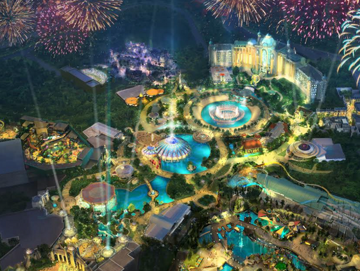 Construction Resumes on Universal's Epic Universe