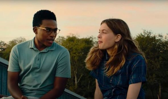 Camron Jones and Olivia Welch in PANIC c/o Amazon Prime Video