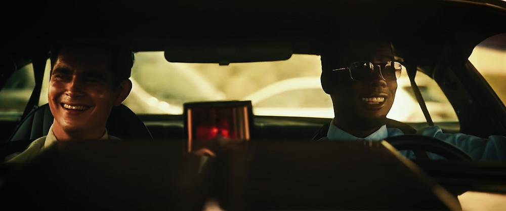 Max Minghella and Chris Rock in Spiral c/o Lionsgate