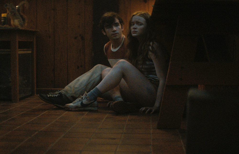 Ted Sutherland and Sadie Sink in Fear Street Part Two: 1978 c/o Netflix