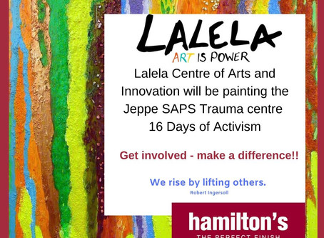 Lalela Helps The Community