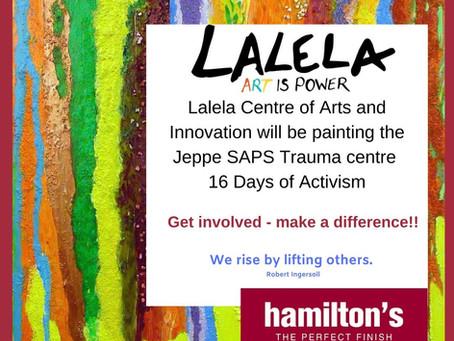 Lalela Helps The Community