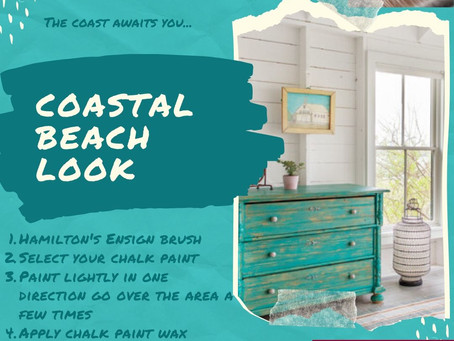 Going For The Coastal Beach Look?