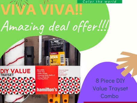 8 Piece DIY Value Trayset Combo Special!