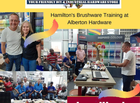 Hamilton's Training at Alberton Hardware