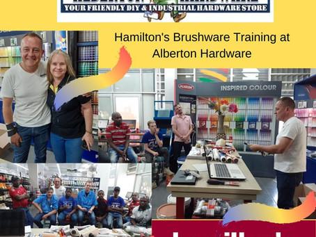 Hamilton's Training at Alberton Hardware