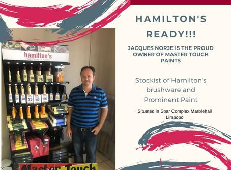 Master Touch Stockist of Hamilton's