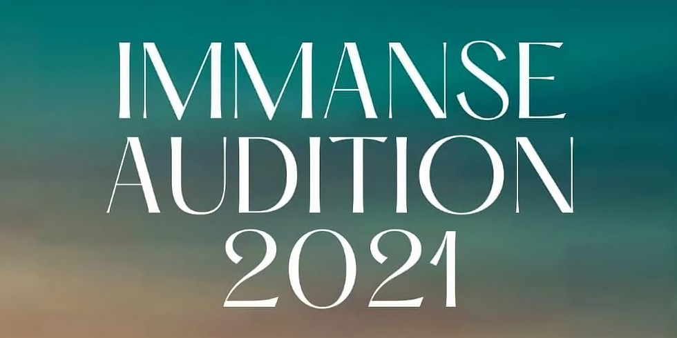 IMMANSE AUDITION SUBMISSION