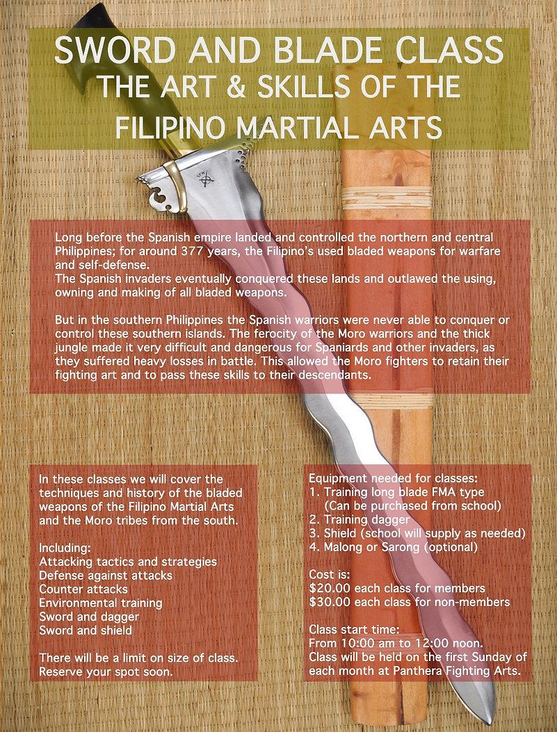 Sword Class - Simi Valley Ca. - Martial Arts School