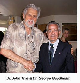 Dr. John Thie, the originator of TFH and Dr. George Goodheart, the founder of Applied Kinesiology.