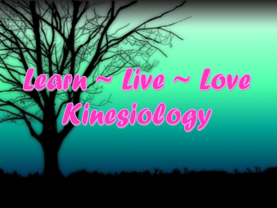 Learn Live Love Kinesiology