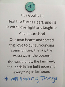 Our Earth Healing Goal