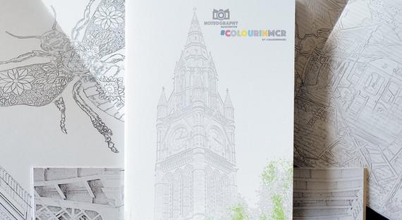 #ColourInMCR Colouring Book by Made In Manc