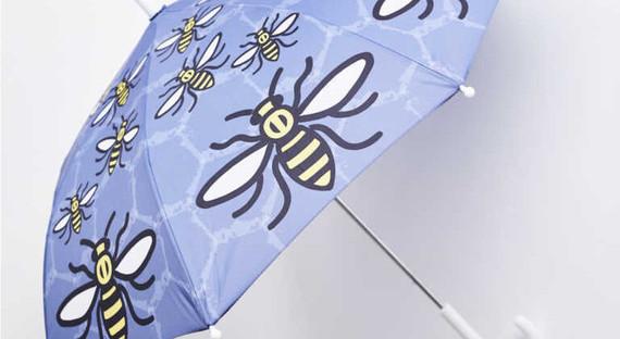 Kids Worker Bee Umbrella by Grass & Air