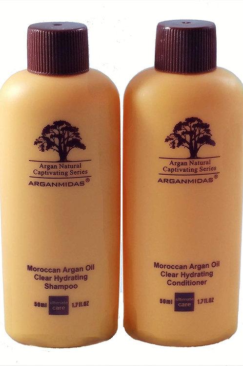 ARGANMIDAS - Shampoo and Conditioner Travel Kit